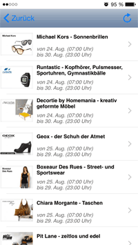 app shoppingclub screen-1